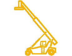 reach-stacker-vacio